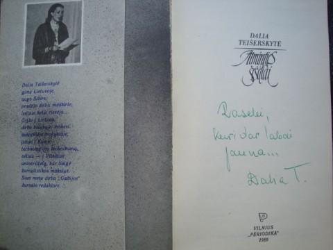 """Dalios Teiserskytes Knyga""""Atminties seseliai"""""""